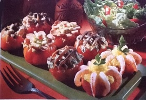 cucina anni 70 - pomodori ripieni