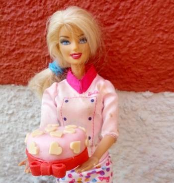 barbie-cake design-small